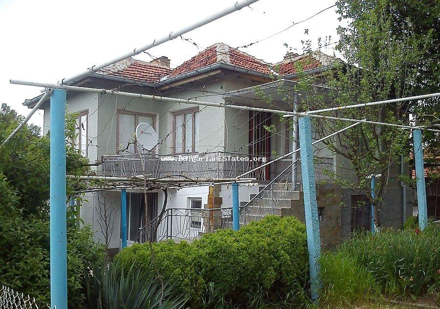 We offer you a house for sale in the village of General Inzovo, just 23 km from the town of Yambol.