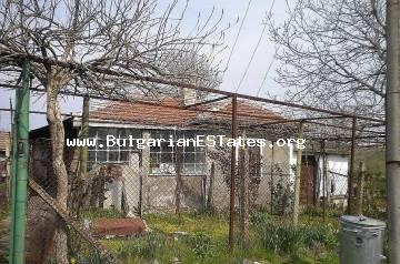 Affordable house is for sale in the village of Diulevo, 22 km from the city of Bourgas and the sea.