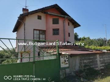 Attractive two-storey house is for sale in the town of Sozopol, only 2 km from the beach and the sea.
