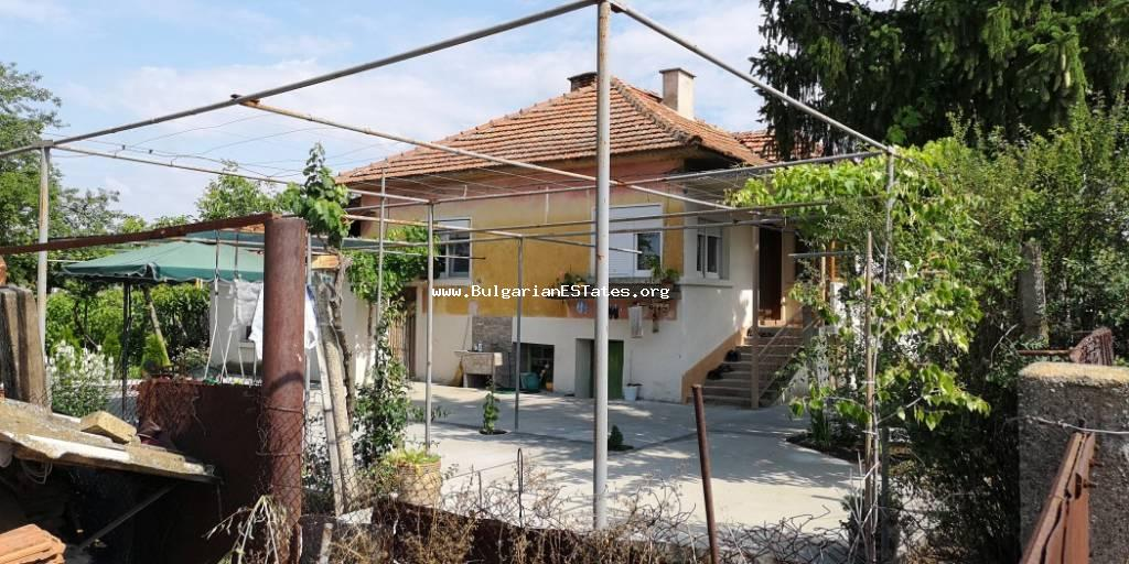 Renovated house is for sale in the village of Tenevo, Yambol region.