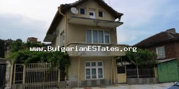 House for sale in the village of Novo Panicharevo, 17 km from the town of Primorsko and the sea.