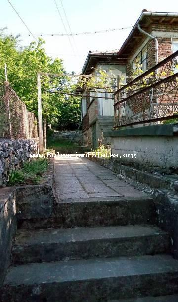 A house for sale affordably in the town of Malko Tarnovo, 65 km from the city of Bourgas.