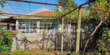 Affordable one-storey house is for sale in the village of Diulevo, only 27 km away from the city of Burgas and the sea.