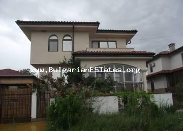 We offer for sale a two-storey house with a yard in the Banevo district in the area of ​​Borovete, the city of Burgas.