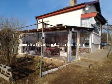 A renovated house is for sale in the village of Izvorishte, only 20 km from the city of Burgas.
