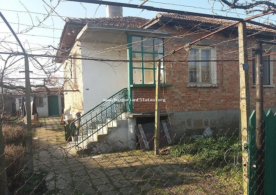 TOP OFFER!!!One storey house is for sale in the village of Trastikovo, 15 km from Burgas and the sea
