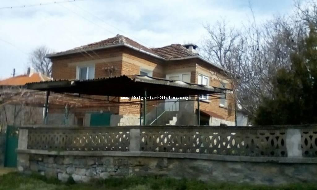Fully renovated two-storey house is for sale in the village Momina Tsarkva, only 55 km from the city of Burgas and the sea.