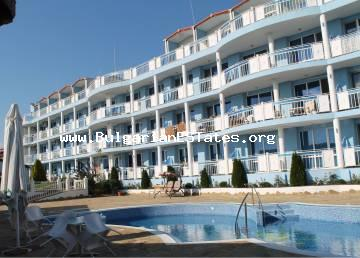 "Affordable large one bedroom apartment is for sale in the ""Rio"" complex, Kosharitsa, only a short drive 2 km away from the Sunny Beach resort and the beach."