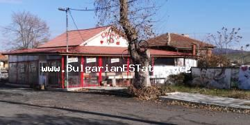 Business for sale!!! Buy a one-storey house with documents for functioning as a restaurant in the village of Izvor, 13 km from the city of Bourgas and the sea.