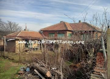 Affordable house is for sale in the village of Golyamo Krushevo, just 60 km from Bourgas and the sea.