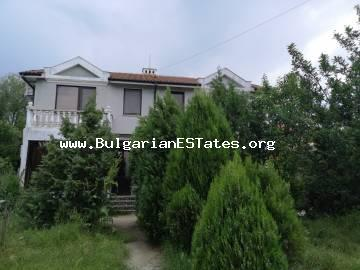 New house is for sale in the village of Alexandrovo, 8 km from the sea and Sunny Beach and 25 km from Burgas.
