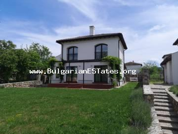 New luxury house is for sale in the village of Velika in the Strandzha Mountains, just 4 km from the sea and the resort of Lozenets.
