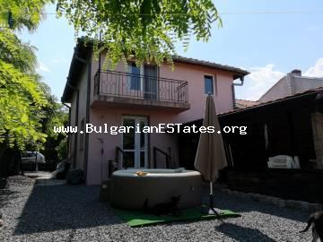 For sale is two-storey house with a spacious yard in the village of Livada, just 20 km from the city of Burgas and the sea.