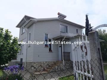New house for sale in the village of Velika, with a magnificent view of the Strandja Mountain, just 4 km from the sea and Lozenets.