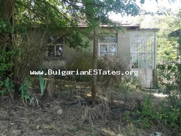 Affordable one-storey house is for sale with a large yard in the village of Svetlina, 35 km from Burgas and the sea.