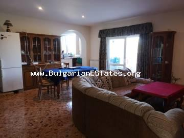 Luxury two-storey house for sale in the village of Prisad, 17 km from the town of Burgas and the sea.