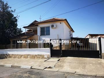 We offer for sale a renovated two-storey house in the village of Tenevo, 20 km from the city of Yambol.