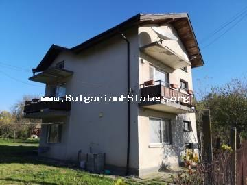 For sale is a new house in the village of Svetlina, just 35 km from the city of Burgas and the sea.