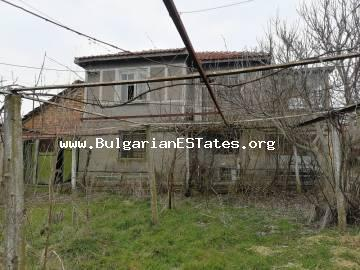 We sell a large two-storey house in the village of Debelt, 20 km from the city of Burgas and the sea.