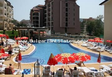 Lovely one bedroom apartment is for sale in Sunny beach resort near the sea. Top price 33 900 euro.
