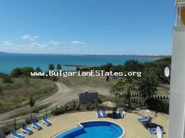 One-bedroom apartment on the first line with sea view for sale in Sarafovo district, Burgas.
