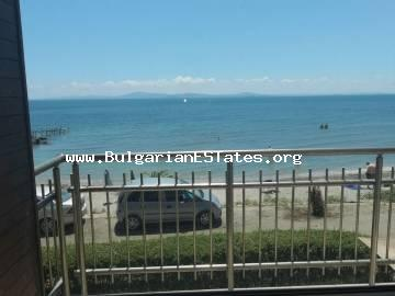 Two-bedroom apartment for sale, first line to the sea, Pomorie.