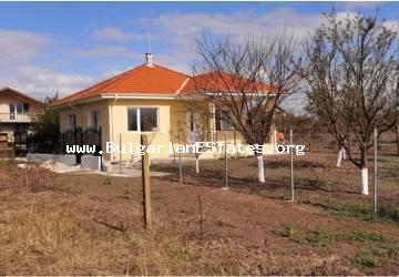 Bulgarian property! We offer for sale a new two-storey house in the village of Cherni vrah, just 7 km from the city of Burgas.