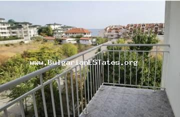 Two-bedroom apartment with sea views is for sale in Ravda, just 150 m from the sea.