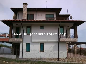 A large new three-storey house with sea views is for sale in Sveti Vlas!