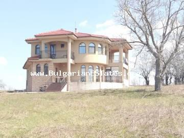House for sale in Bulgaria! New two-storey house in an ecologically clean area with unspoilt nature in the village of Panitsovo, Bulgaria, 16 km from the sea and Obzor, 32 km from Sunny Beach and 55 km from Burgas.